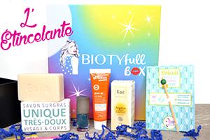 Biotyfull box juin 2016 l'étincelante