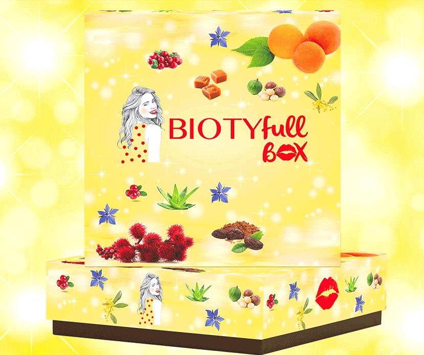 BIOTYFULL Box Novembre 2017 : L'Éclatante. Découvrez son Contenu
