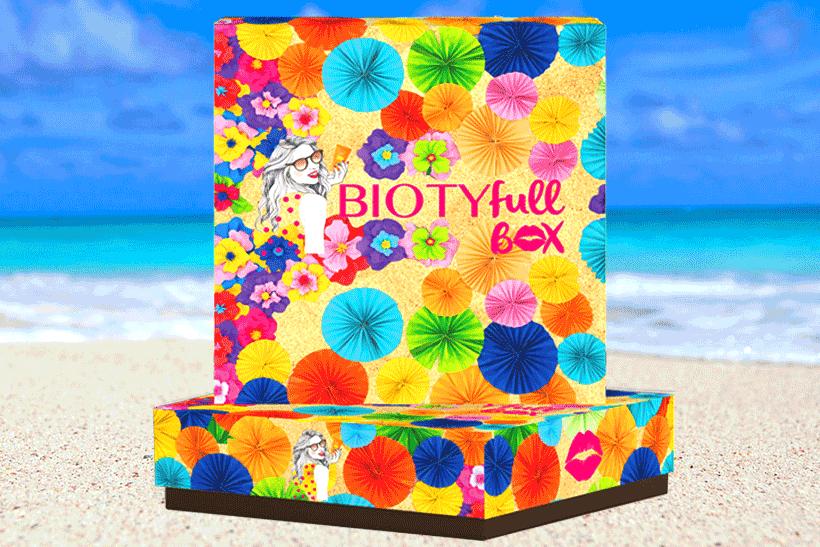 BIOTYFULL Box Juillet 2018 : Routine Solaire Quotidienne ! Découvrez son Contenu