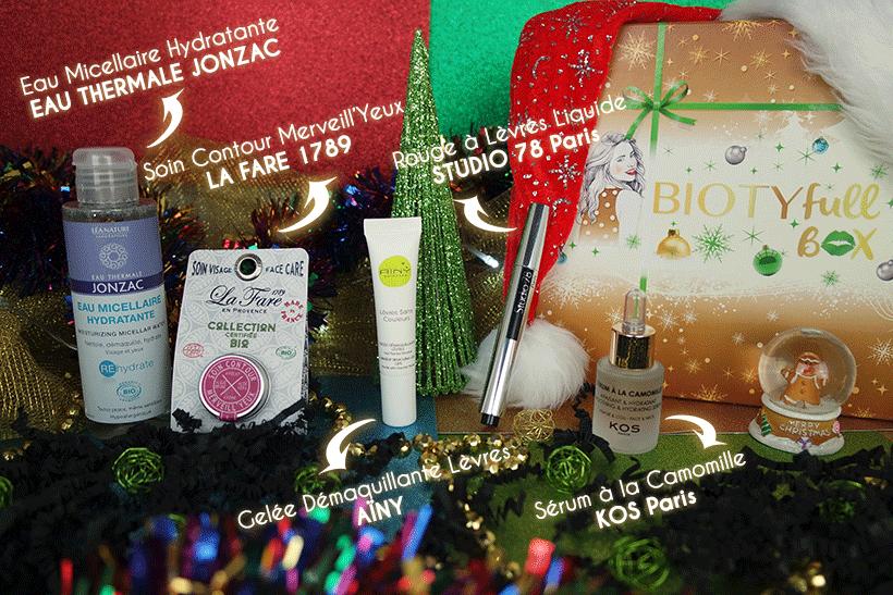BIOTYFULL Box La Merveilleuse : La Routine Beauté Bio pour illuminer vos fêtes !