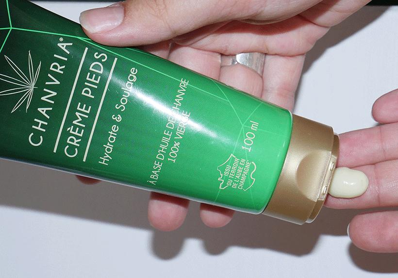 Crème Pieds Bio - CHANVRIA - Etape 1