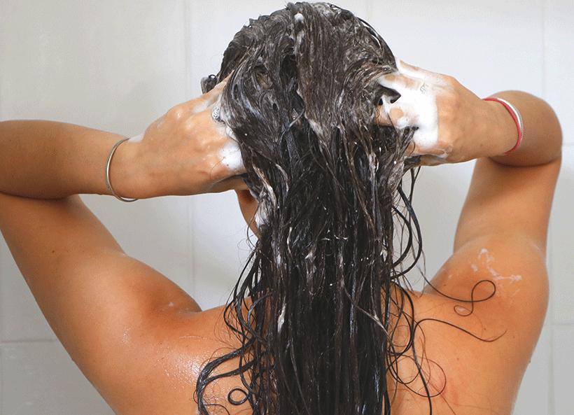 Shampoing Naturel Moussant - BIOPHYTUM - Etape 1