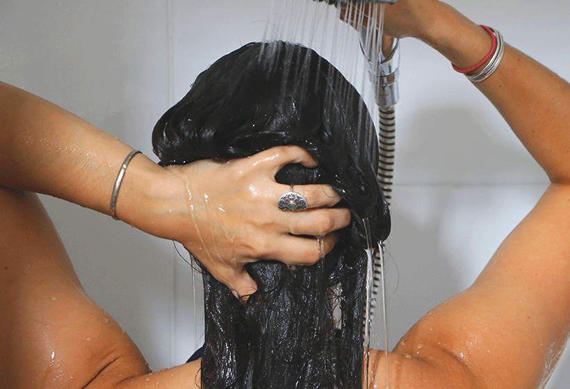 Shampoing Naturel Moussant - BIOPHYTUM - Etape 2