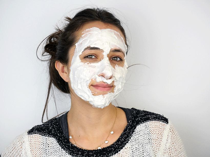 Masque Lait d'Ânesse - PERLE DE VIE - Etape 3