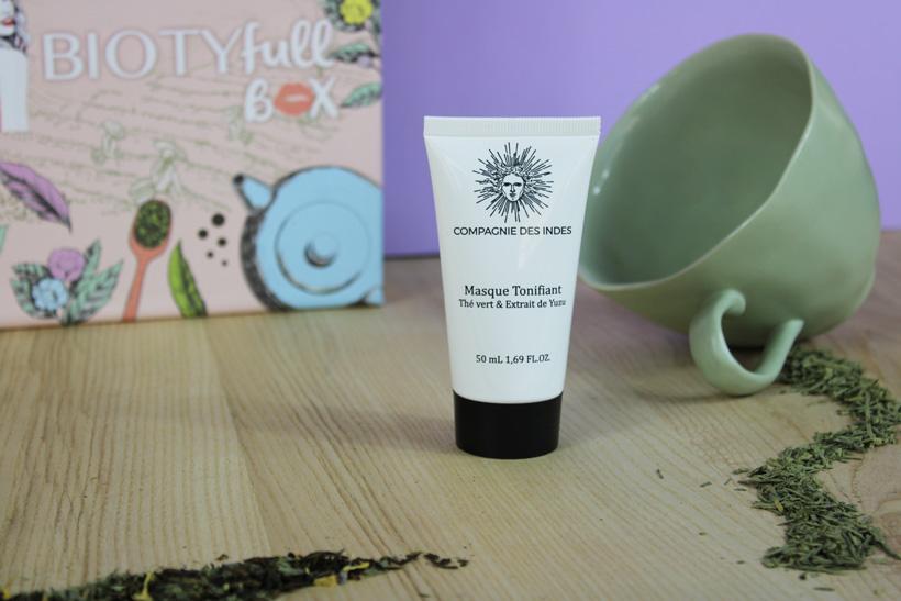 Masque Tonifiant Thé Vert & Yuzu : Un moment détente ultra tonique !
