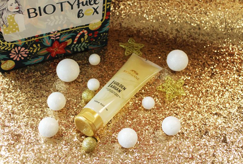 Shampoing Pailleté «Golden Argan»: Nettoyer votre chevelure de manière festive !