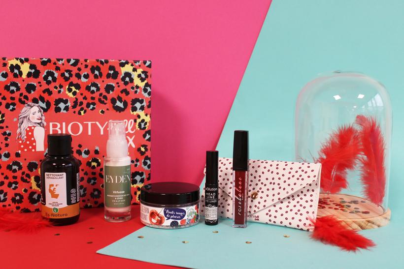 Routine Beauté Bio Glamour de Saint-Valentin : La BIOTYFULL Box Glamour de Saint-Valentin