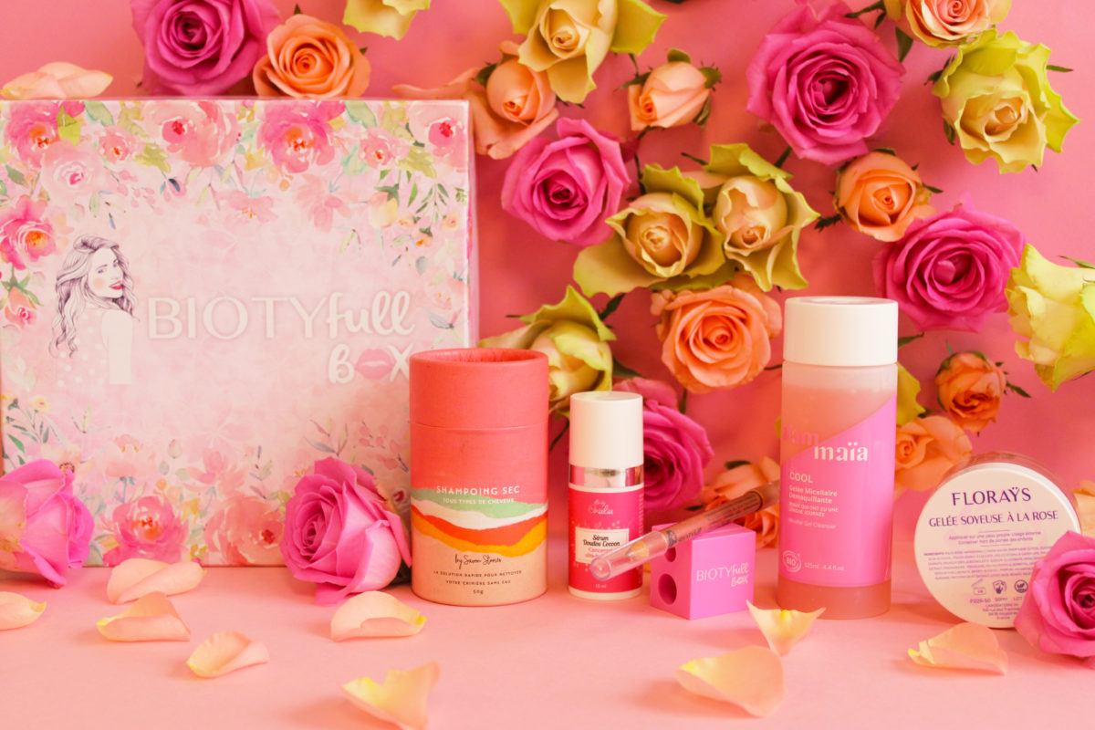 Routine Beauté Bio La Rosée : La BIOTYFULL Box La Rosée