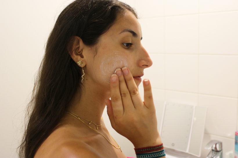 crème gommante visage