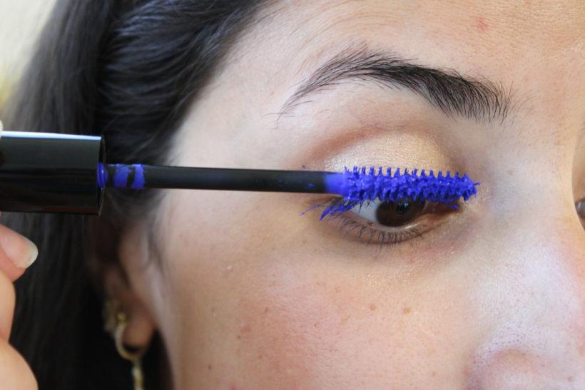 Mascara Volume Intense Bleu Électrique
