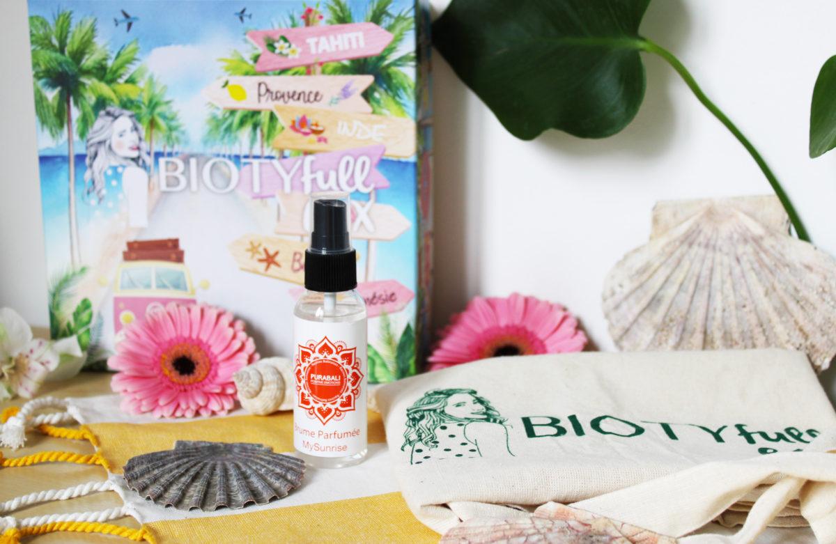 Brume Parfumée Cheveux & Corps « My Sunrise »: Envolez-vous pour Bali !