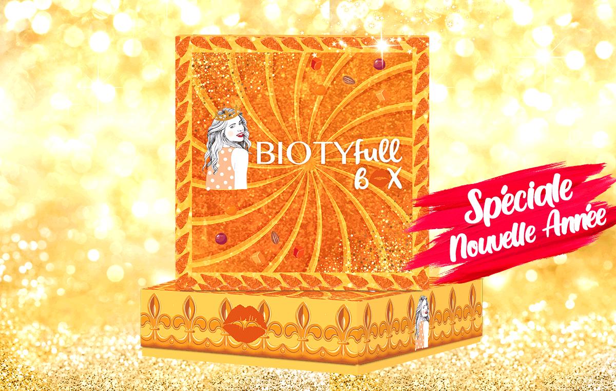 "Avis Biotyfull Box Janvier 2021 : La Box Nourrissante ""Galette des Rois"""