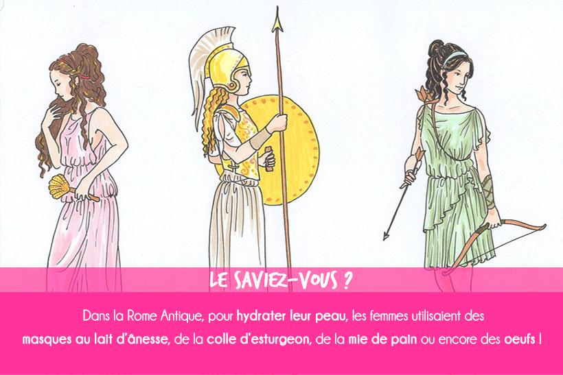 La chronique historique : la routine beauté des Romaines !