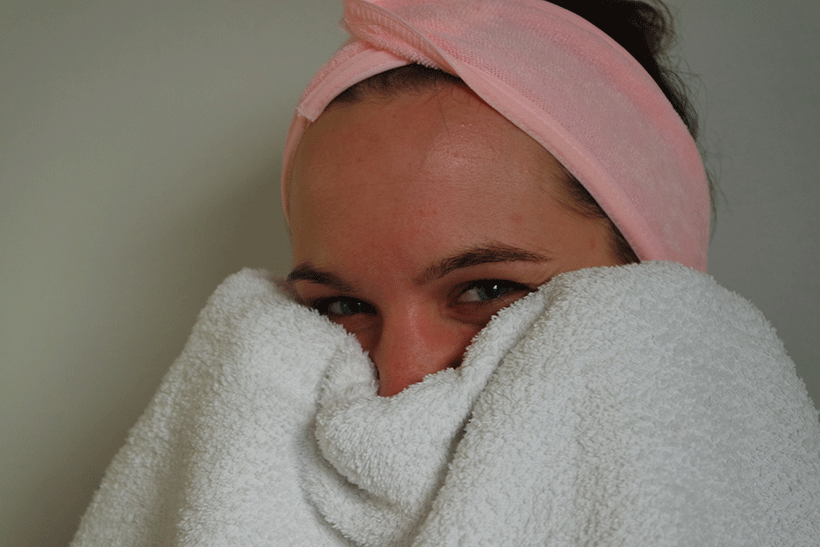 Masque Visage LCbio - Etape 3