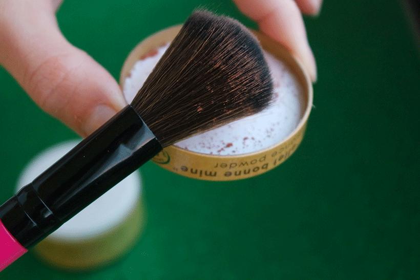 Poudre Bonne Mine Couleur Caramel - Etape 2