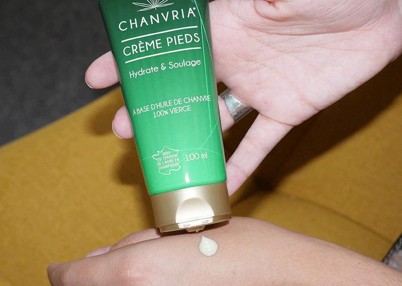 Crème Pieds Bio - CHANVRIA - Texture