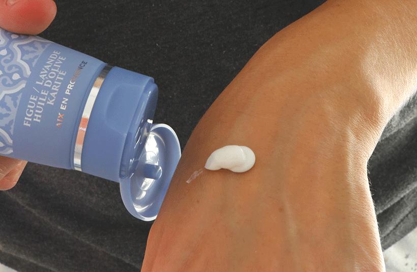 Crème Mains - SAINTE VICTOIRE - Texture
