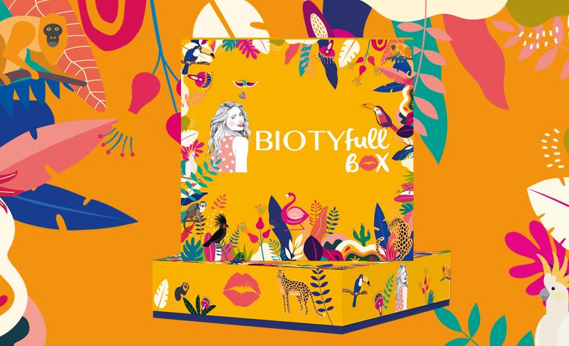 """Avis Biotyfull Box Août 2021 : La Box Régénérante Après-Soleil """"Jungle Tropicale"""""""