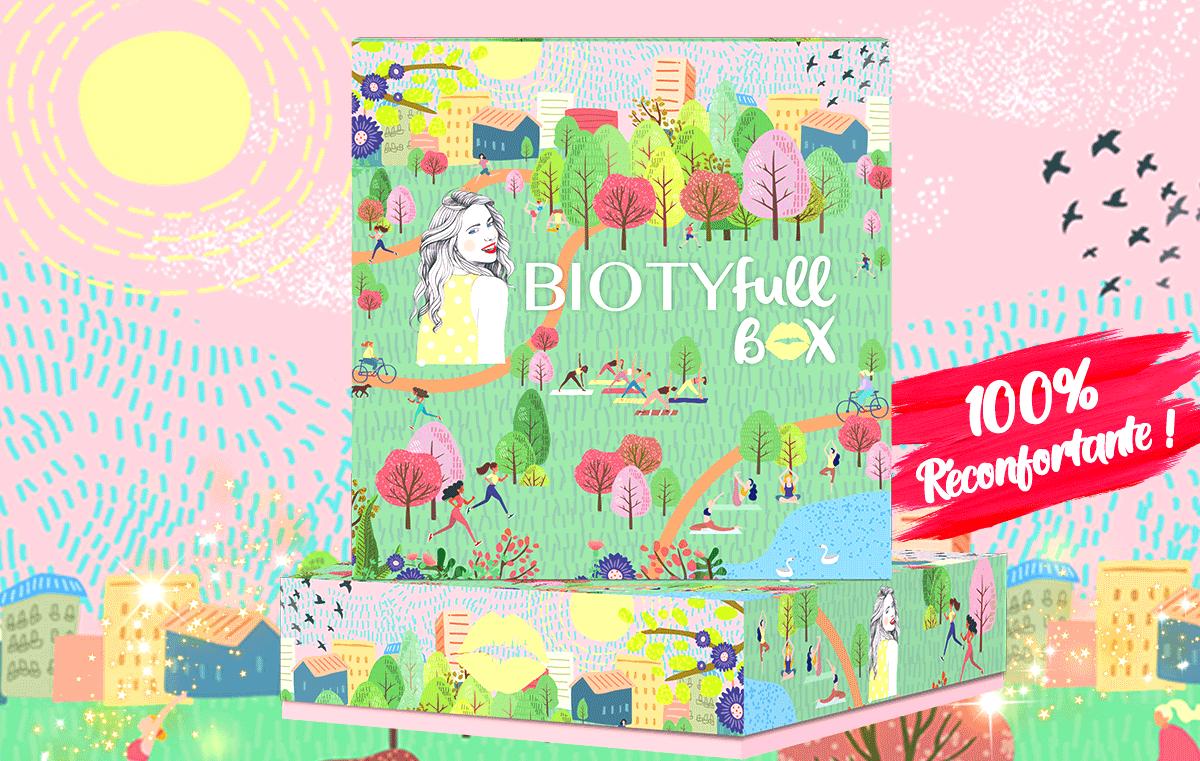 Avis Biotyfull Box Mars 2021 : La Box Sportive 100% Réconfortante !