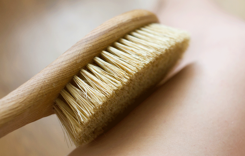 Brossage à sec