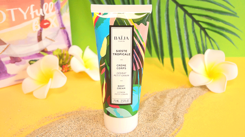 Crème Corps Sieste Tropicale : Le confort d'une peau hydratée, mêlé au plaisir d'effluves divins !