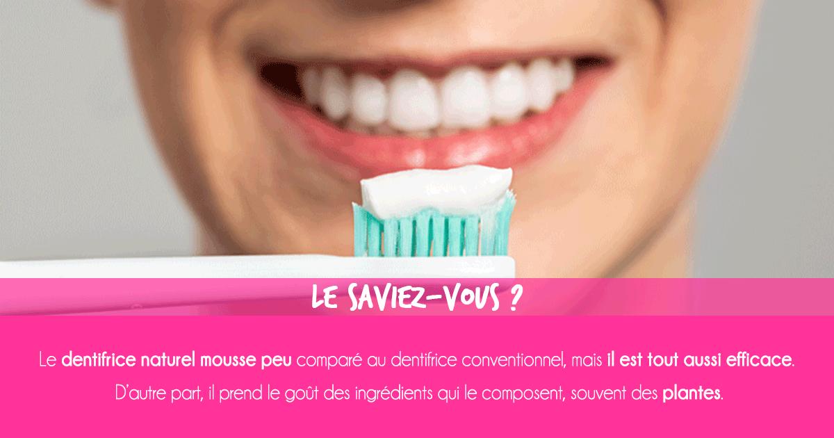 Dentifrices naturel et conventionnel : tout savoir sur la différence entre dentifrice naturel et conventionnel