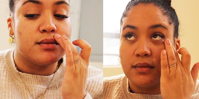 Masque Yeux + Lèvres