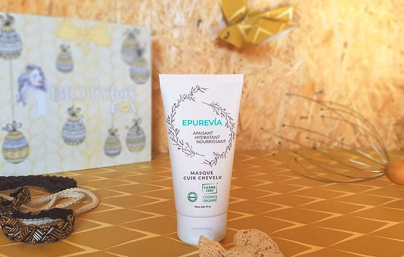 Masque Cuir Chevelu Apaisant & Hydratant : Un cuir chevelu bien protégé !