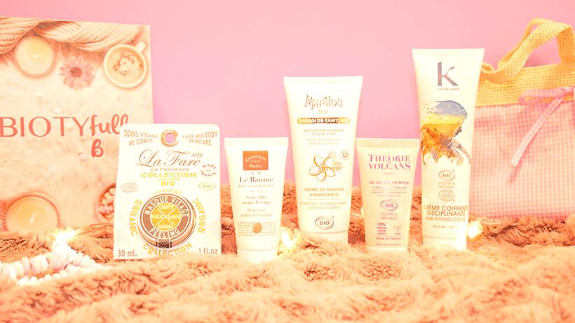 Routine Beauté Bio Cocooning Parfumée 100% COSMEBIO : La BIOTYFULL Box « Cocooning Parfumée 100% COSMEBIO »