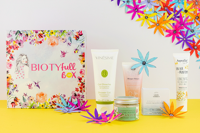 Routine Beauté Bio Indispensable : La BIOTYFULL Box « Indispensable »
