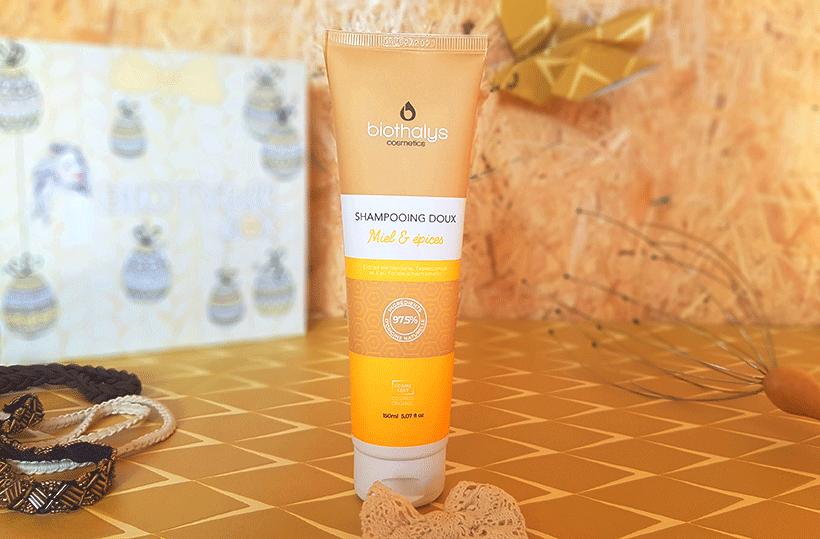 Shampoing Doux Miel Épices : Une chevelure parfaitement nettoyée !