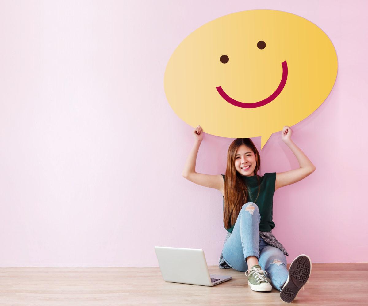 Voir la vie en rose : 5 conseils pour rester positif.ve!