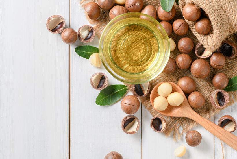 Huile de macadamia : De votre assiette à votre salle de bain