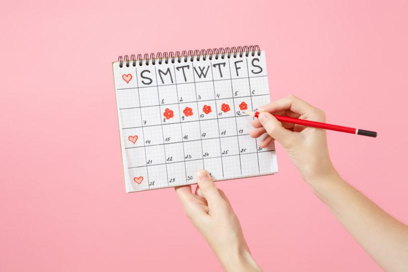 routine beauté cycle menstruel