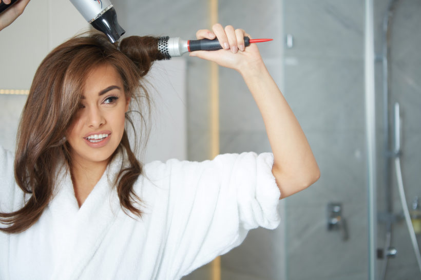 astuces brushing maison