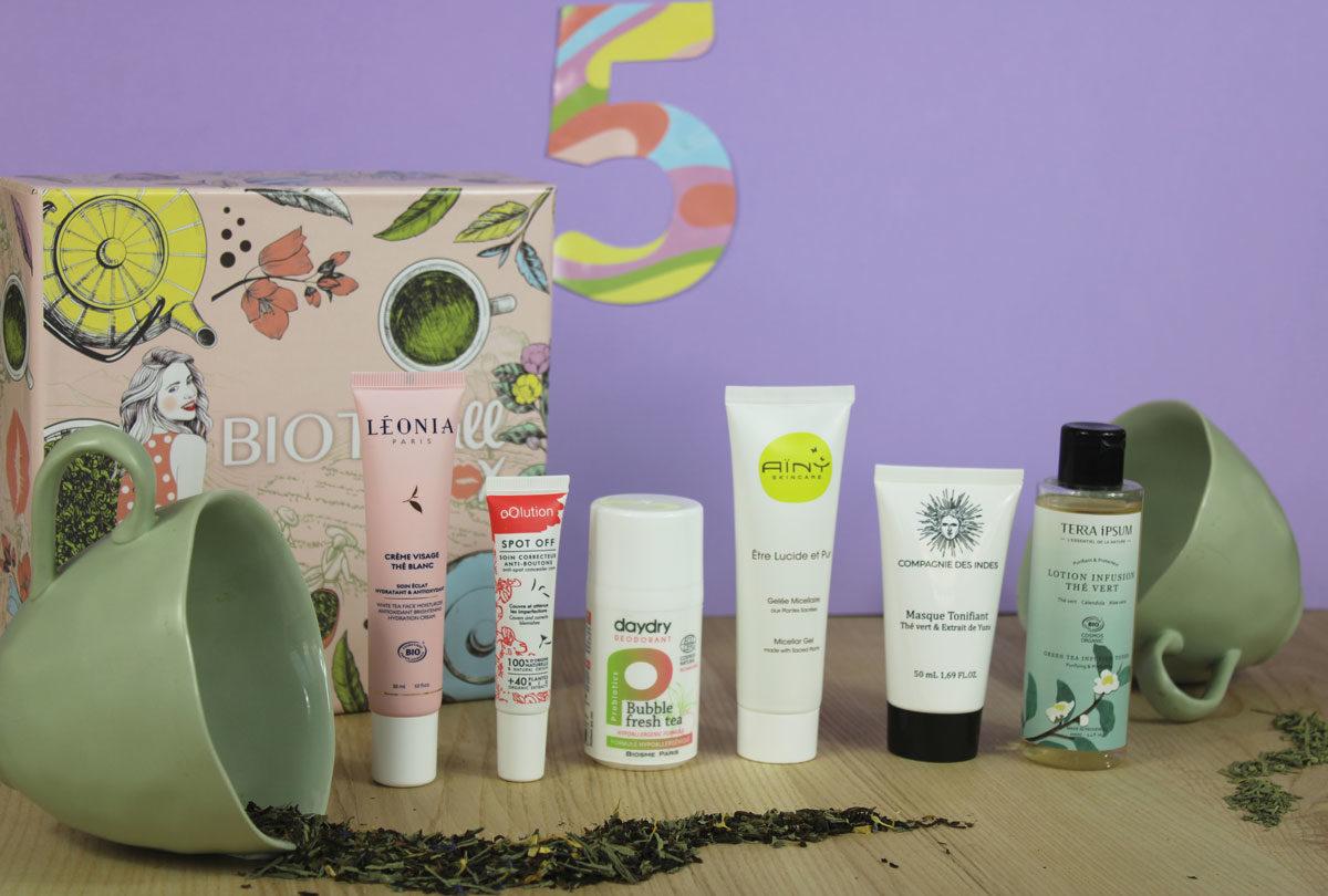 Routine Beauté Bio 100% Thé : La BIOTYFULL Box 100% Thé