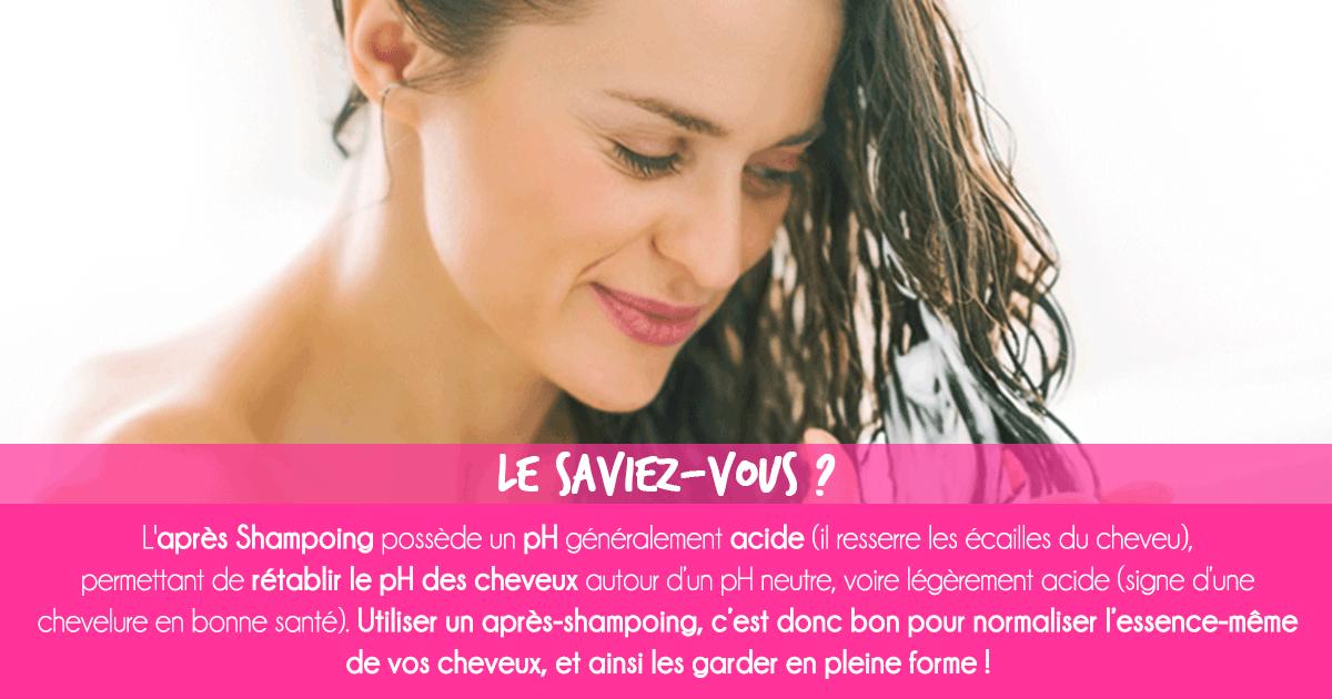 Après-Shampoing : Pourquoi utiliser un après-shampoing ?