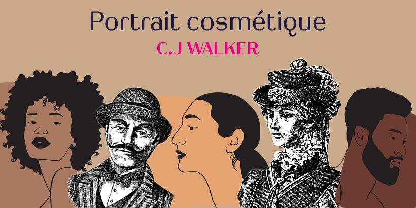 Portrait cosmétique C.J Walker-1