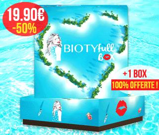 19 90 pour 2 box abonnez vous 3 mois la premi re box beaut 100 bio biotyfull box. Black Bedroom Furniture Sets. Home Design Ideas
