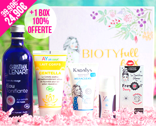 Biotyfull Box septembre 2017