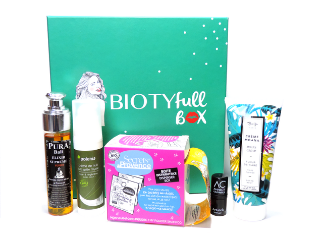 Biotyfull Box de novembre 2015 L'audacieuse photo 1