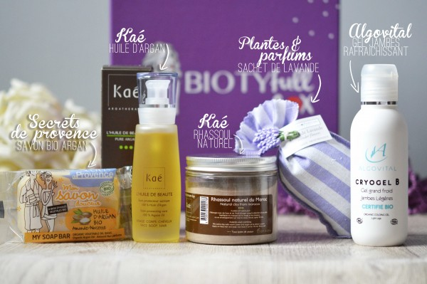 Biotyfull Box mars 2016 la zénitude photo 4