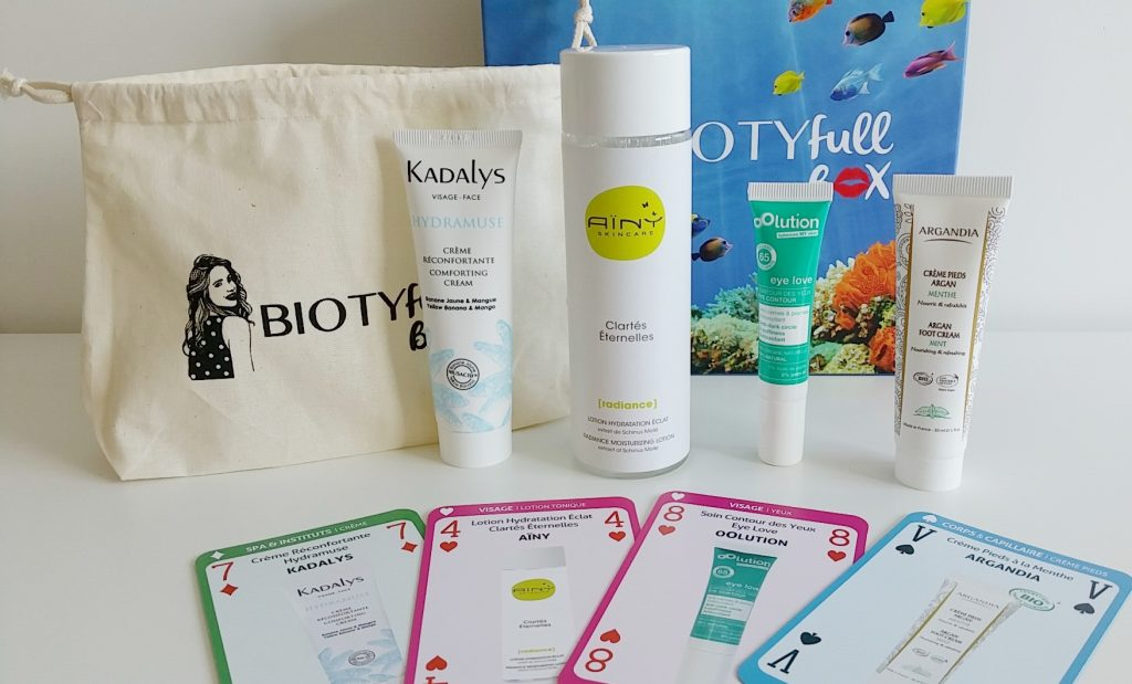 Biotyfull Box aril 2017 Routine Spéciale Visage photo 3