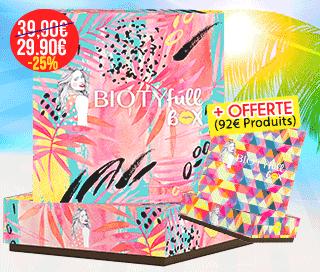 Biotyfull Box juin 2018 l'estivale