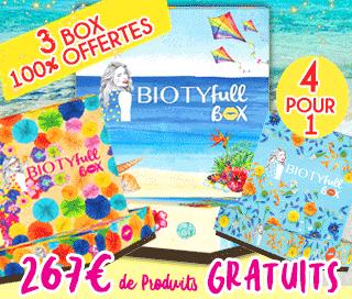 Biotyfull Box gratuite aout 2018