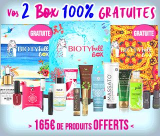 Biotyfull Box gratuite octobre 2018