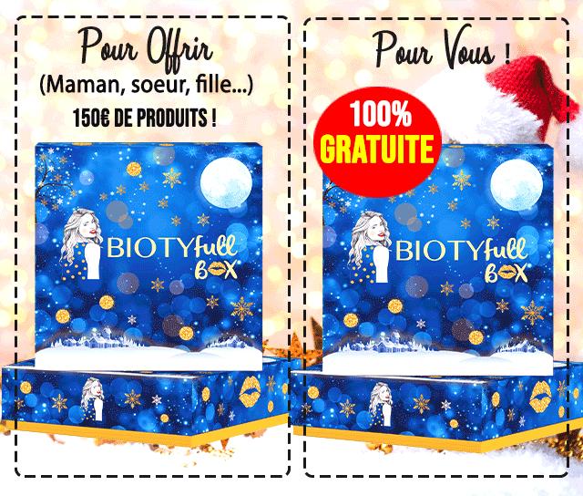 Biotyfull Box gratuite noel 2018