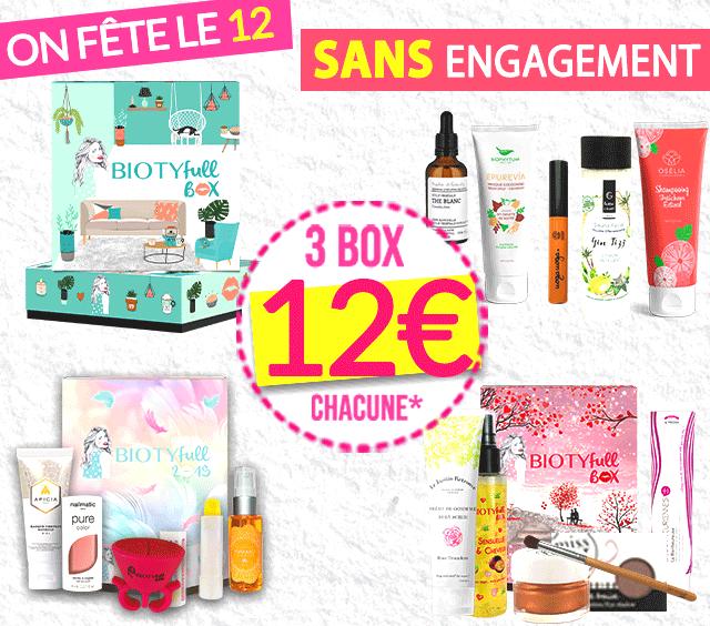 0d3e78c23d2 Box Beauté Gratuite et Full-size   N°1 Box Beauté Bio