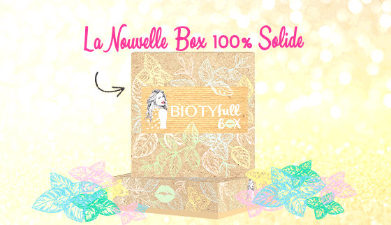 biotyfull box octobre 2019 100% solide