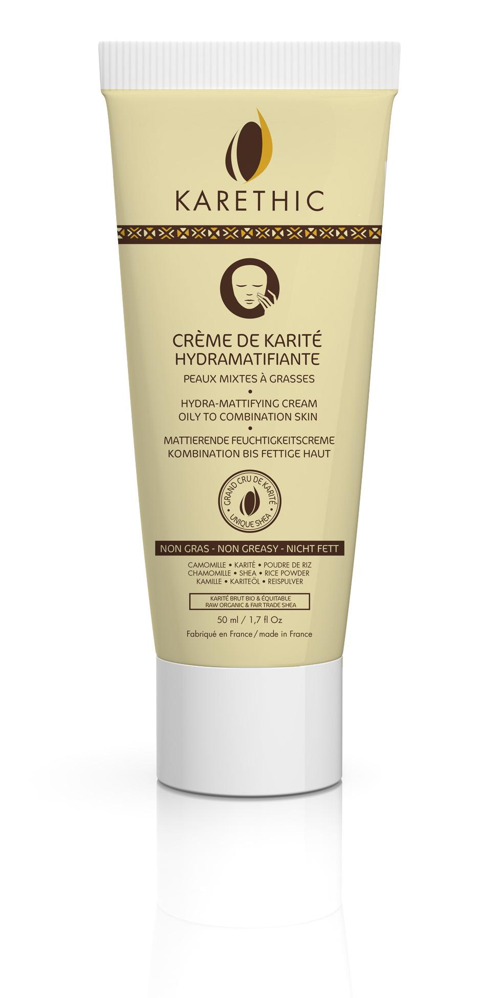 KARETHIC - Crème Hydramatifiante
